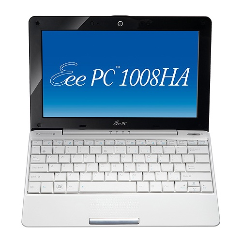 Asus Eee PC 1008HA (1008HA-WHI03X) white