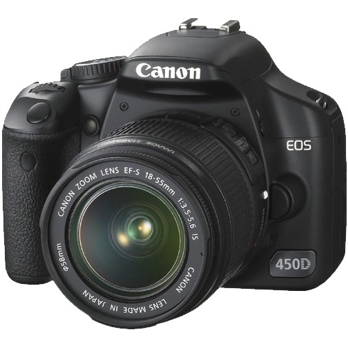 Canon EOS 450D (kit 18-55 IS + 75-300 DC)