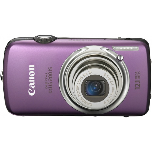 Canon IXUS 200 IS purple
