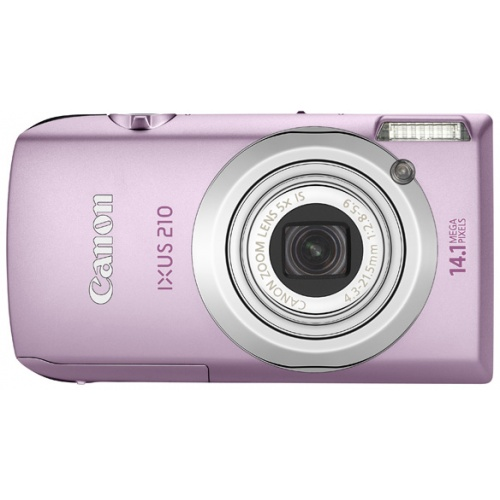 Canon IXUS 210 IS pink