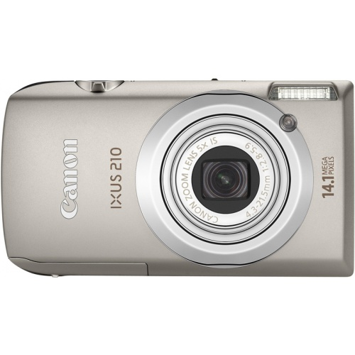 Canon IXUS 210 IS silver