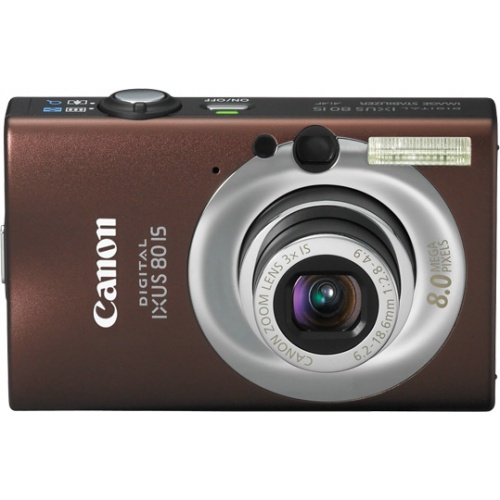 Canon IXUS 80 IS brown