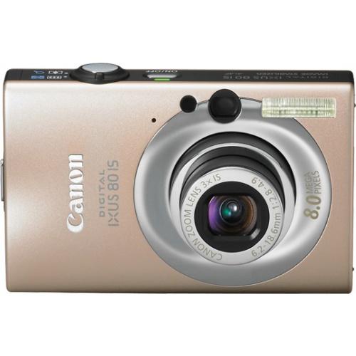 Canon IXUS 80 IS caramel