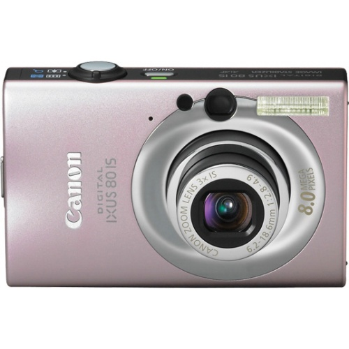 Canon IXUS 80 IS pink