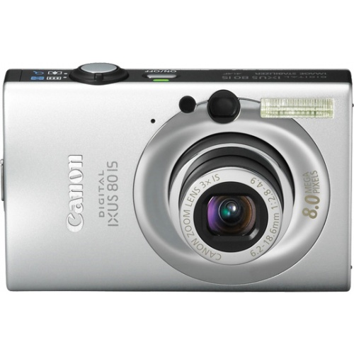 Canon IXUS 80 IS silver + принтер CP530
