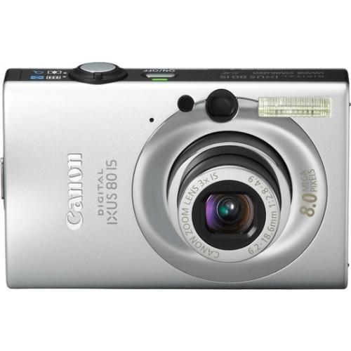 Canon IXUS 80 IS silver + принтер CP530