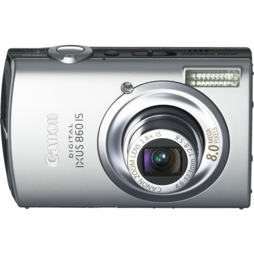 Canon IXUS 860 IS silver