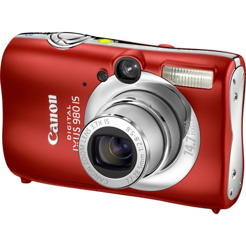 Canon IXUS 980 IS red