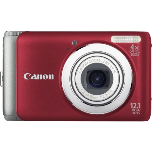 Фото Canon PowerShot A3100 IS red