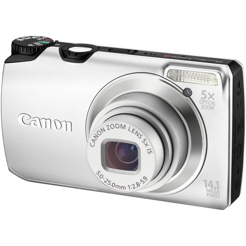 Фотография Canon PowerShot A3200 IS silver
