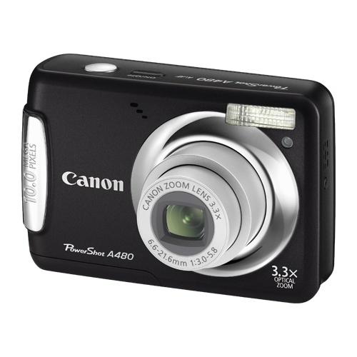Фото Canon PowerShot A480 black