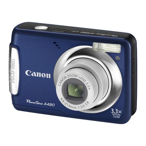 Canon PowerShot A480 blue