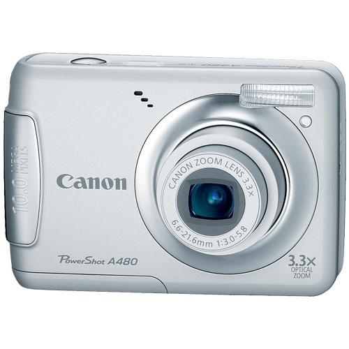 Canon PowerShot A480 silver