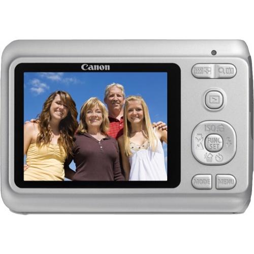Фото Canon PowerShot A480 silver