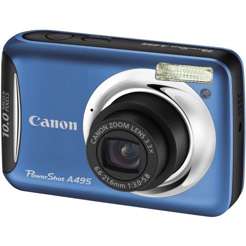 Canon PowerShot A495 blue