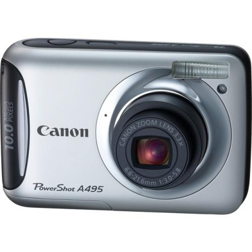 Canon PowerShot A495 silver