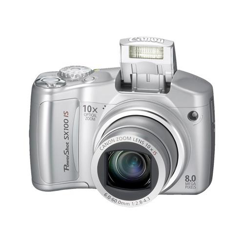 Фотография Canon PowerShot SX100 IS silver