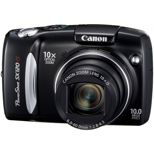 Canon PowerShot SX120 IS black