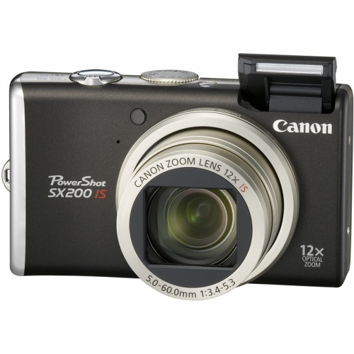Canon PowerShot SX200 IS black