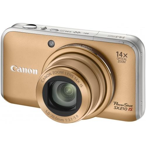 Фотография Canon PowerShot SX210 IS gold