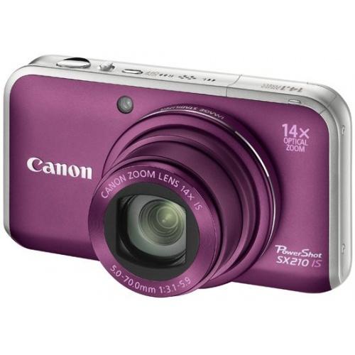 Canon PowerShot SX210 IS purple