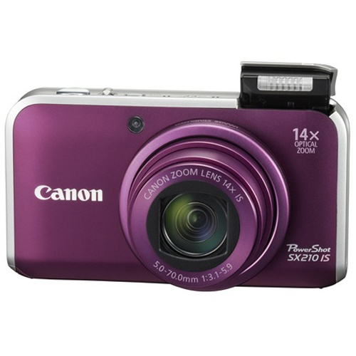 Фото Canon PowerShot SX210 IS purple