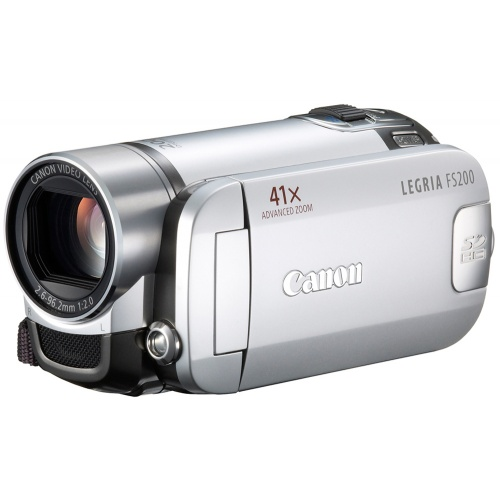 Canon Legria FS200 silver