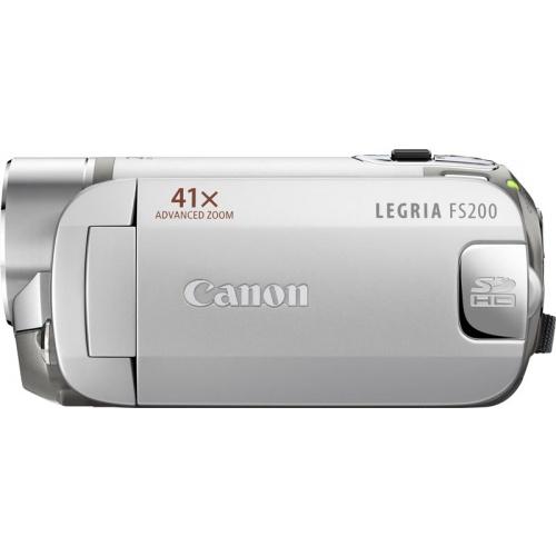 Фото Canon Legria FS200 silver