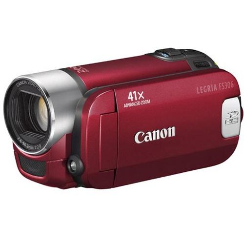 Canon Legria FS306 red