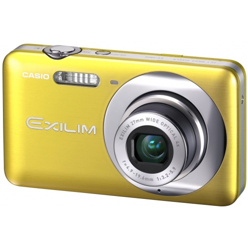 Casio Exilim EX-Z800 yellow