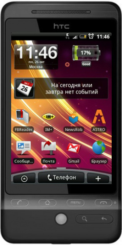 Фото телефона HTC A6262 Hero black