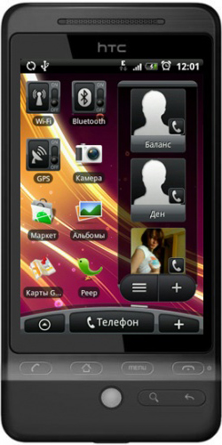 Фото телефона HTC A6262 Hero black