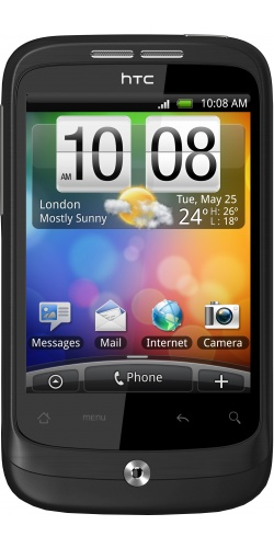 HTC A3333 Wildfire black