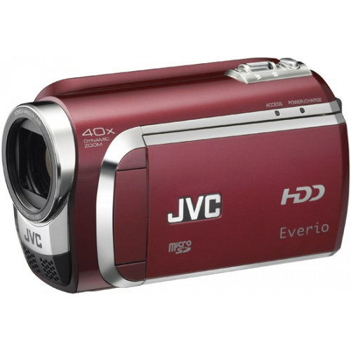 JVC GZ-MG630 red