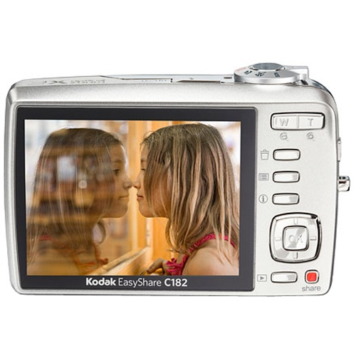 Фото Kodak EasyShare C182 silver + SD 2 GB