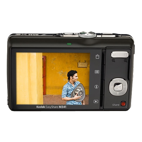 Фото Kodak EasyShare M341 black + SD 2 GB