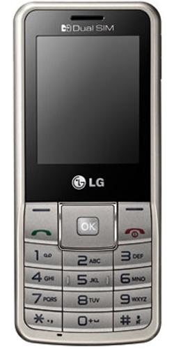 LG A155 Dual Sim gold grey