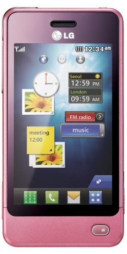 LG GD510 Sun Edition pink
