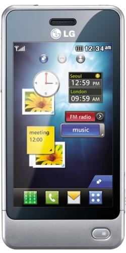 LG GD510 Sun Edition silver