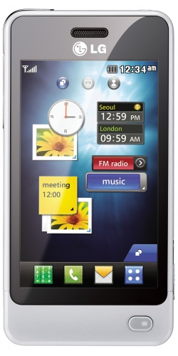 LG GD510 Sun Edition white