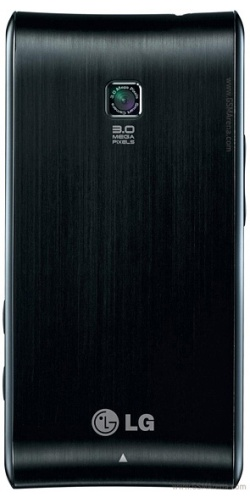 Фото телефона LG GT540 Optimus black