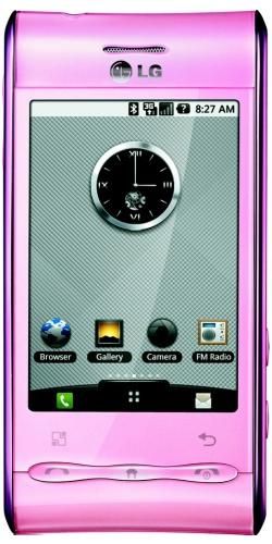 LG GT540 Optimus pink