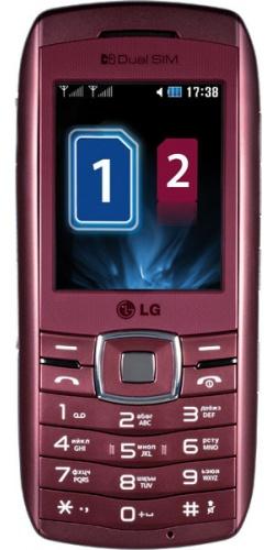 LG GX300 wine red