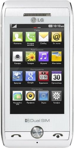 LG GX500 white