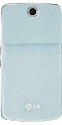 LG KF350 sweet blue