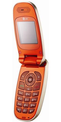 LG KG376 orange