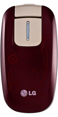 LG KG376 wine red