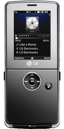 LG KM380 dark brown