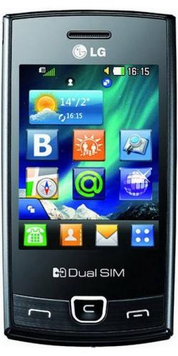 LG P520 Dual Sim black