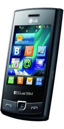 Фото телефона LG P520 Dual Sim black